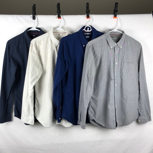 uniqlo shirts slim ocbd lot 4 poshmark